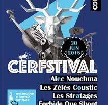 Affiche CERFESTIVAL 2018 à Villecerf
