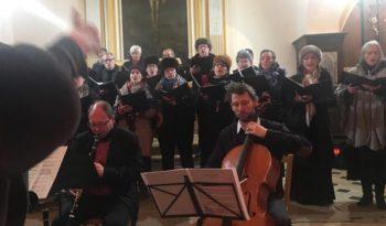 Concert Noël russe à Villecerf.