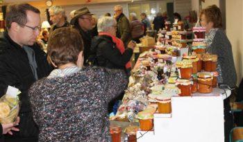 Marché de Noël à Villecerf.