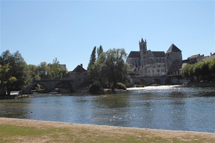 Moret-sur-Loing élue plus belle ville d'Ile-de-France 2019.