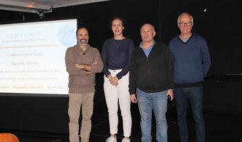 Organisateurs et intervenants de la 3e conférence Sport Santé.