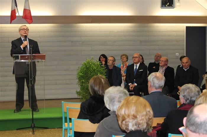 Voeux du Maire de Villecerf, M. François Deysson.