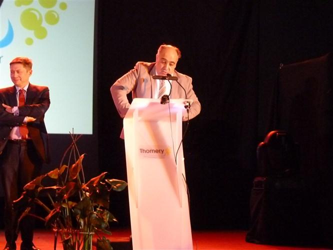 Voeux du Maire de Thomery, M. Bruno Michel.