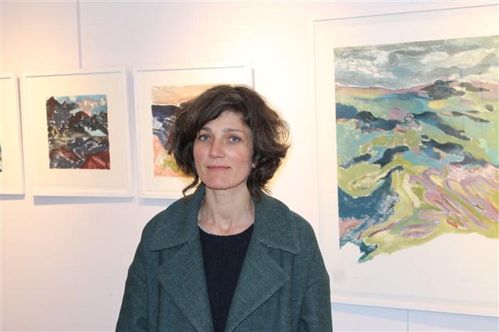 """Sophie Cordey, exposition """"J'Irai"""" au Petit Cormier à Montigny-sur-Loing."""