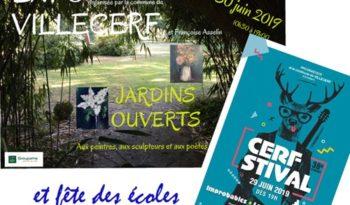 Affiche Villecerf W.E. 29-30 juin 2019