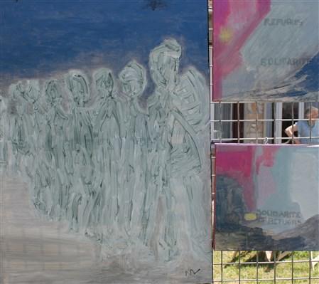 Peintures de Nicole Venat.