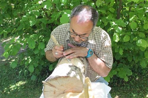 Le sculpteur François Barbier.