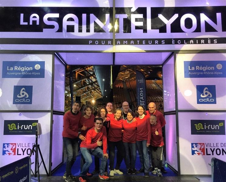 La Team Avon était bien présente à la SaintéLyon 2019.
