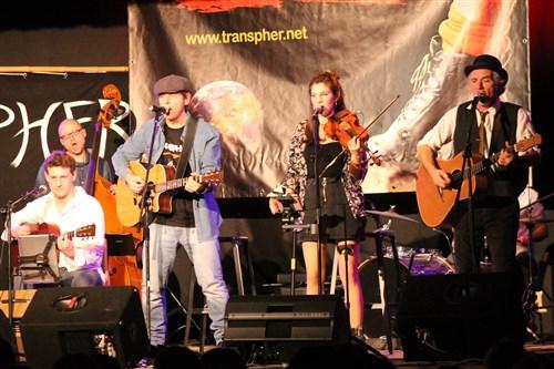 Transpher, le groupe rock celtique en concert à Veneux-Les Sablons.