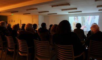 Une trentaine de personnes pour le MurMure consacré au peintre Denis Prieur