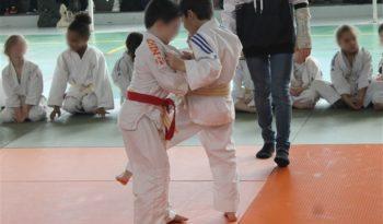 Compétition amicale de judo à Moret-sur-Loing