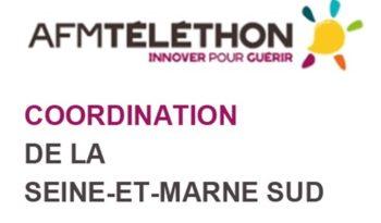 AFM Téléthon Coordination Seine-et-Marne Sud.